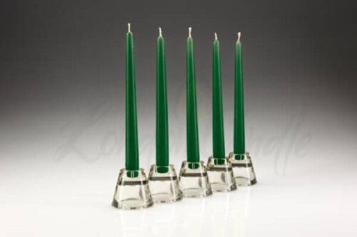 Dinner Candles Green
