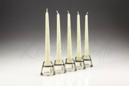 Dinner Candles Ivory
