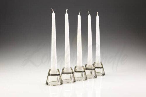 Dinner Candles White