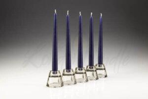 Dinner Candles Dark Blue