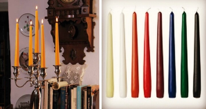 Tapered Dinner Candles
