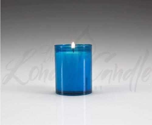 24 Hour Refill Candle Blue