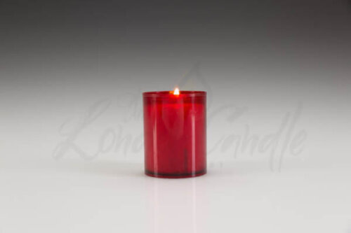 24 Hour Refill Candle Red