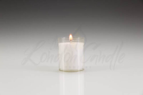 24 Hour Refill Candle Clear