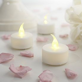 LED Battery Tea Light Candles (Pack 6)
