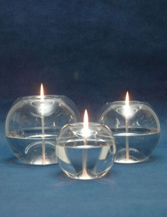 Orbital Glass Oil Lamp Candle Oil Lamps The London