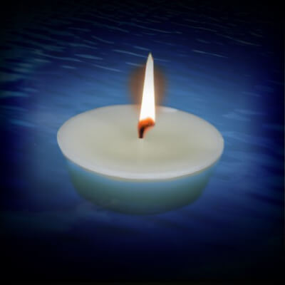 Pond and Pool Floating Candles