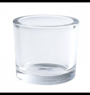 Chunky Clear Tea Light Holder