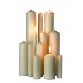 Church Altar Candles
