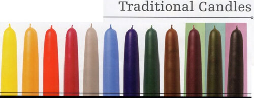 Extra Long Tapered Banqueting Candles