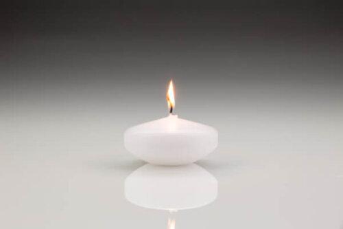 Extra Large Floating Candle White
