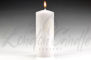 White Pillar Candle 60mm x 150mm