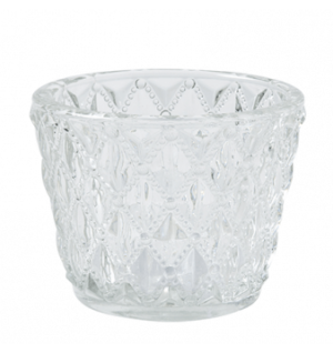 Diamond Cut Tea Light Holder