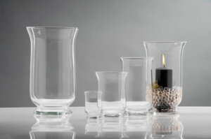Hurricane Lamps for Pillar Candles