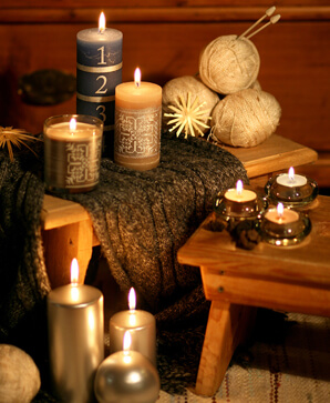 Candles for Winter