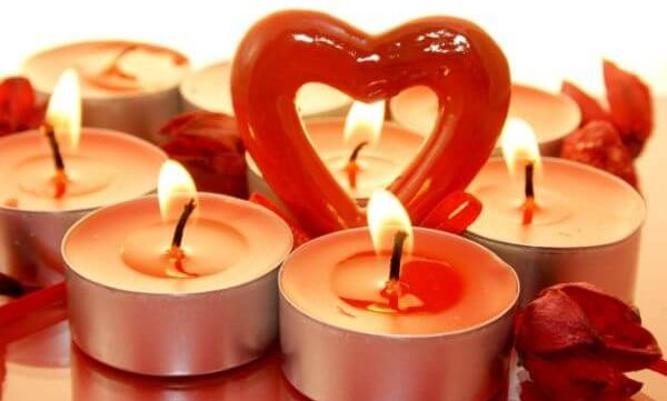 Valentine's Scented Candles