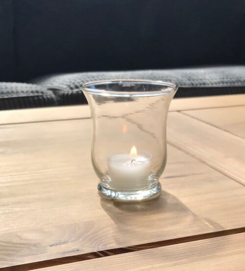 XXS Hurricane Tea Light Holder
