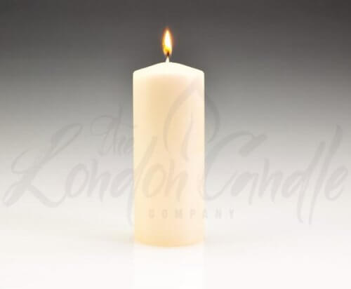 60mm x 150mm Ivory Pillar Candles