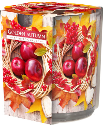 Scented Candle In Glass Golden Autumn