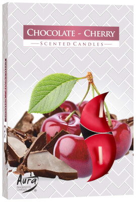 Scented Tea Lights Chocolate & Cherry