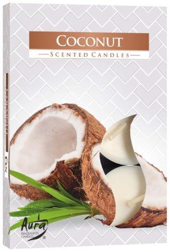 Scented Tea Lights Coconut