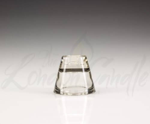 2 in 1 Glass Candle Holder