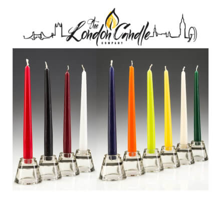 Tapered Dinner Candles Mix