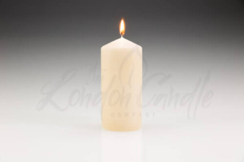 70 x 150mm Ivory Pillar Candle