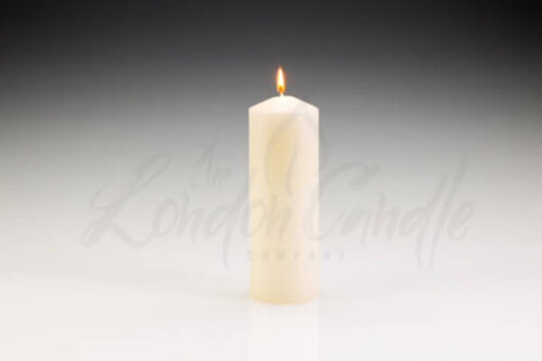 70mm x 200mm Ivory Pillar Candle
