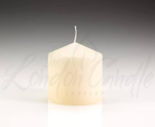 100mm x 100mm Ivory Pillar Candles