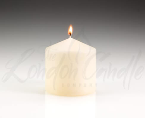 100mm x 100mm Ivory Pillar Candle