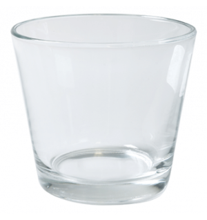 Clear Vase Tea Light Holder