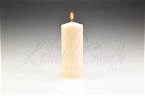 50mm x 175mm Ivory Pillar Candle