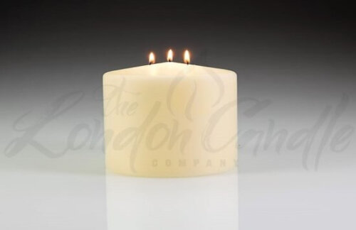 Large 140mm x 110mm Three Wick