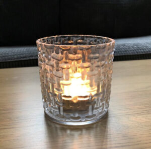 Stippled Tea Light Holder