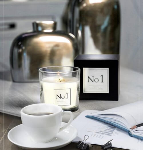 Two Wick Scented Candle
