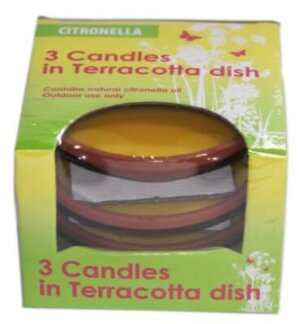 Citronella Terracotta Bowl