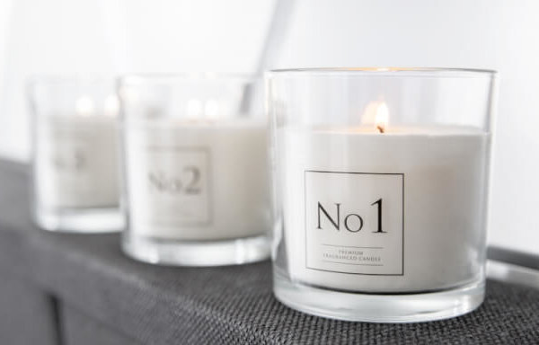 Two Wick Scented Candles