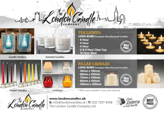 The London Candle Company 2020