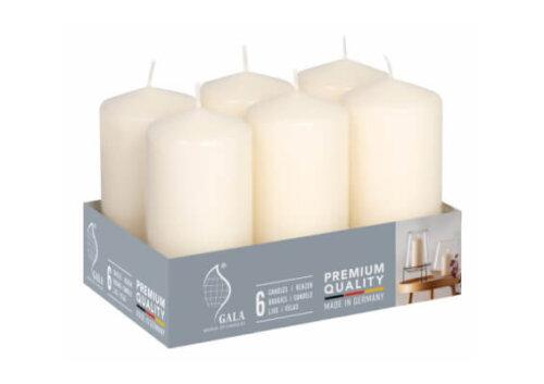 50mm x 100mm Ivory Pillar Candles