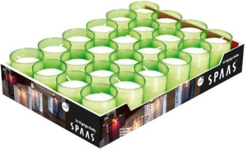 24 Hour Refill Candles Lime Green