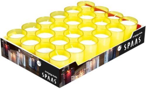 24 Hour Refill Candles Yellow
