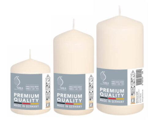 Set Three Ivory Pillars
