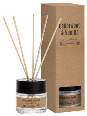 Reed Diffuser Cedarwood & Vanilla