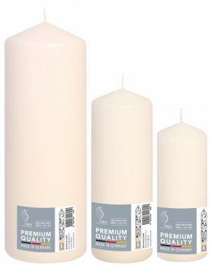Set Three Pillar Candles
