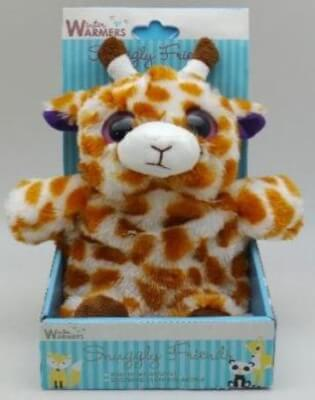 Giraffe Snuggly Friends Animal Microwaveable Wheat Pack