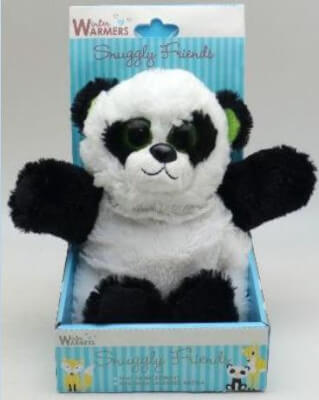 Panda Snuggly Friends Animal Microwaveable Wheat Pack