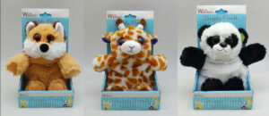 Snuggly Friends Animal Microwaveable Wheat Pack