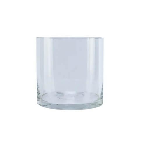 Glass Hurricane Vase 12cm