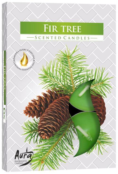 Scented Tea Lights Fir Tree